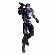 Iron Man - 3 figurine métal Super Alloy 1/12 Iron Patriot 15 cm