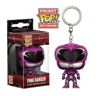 Power Rangers - Porte-clés Pocket POP! Pink Ranger 4 cm