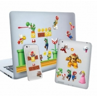 Super Mario - Set autocollants vinyle Level