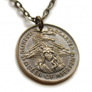 Game of Thrones  - Pendentif et collier Daenerys Targaryen Mark of Meereen