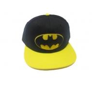 Batman - Casquette hip hop Black & Yellow Logo