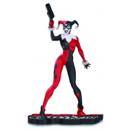 DC Comics - Statuette Red, White & Black Harley Quinn by Jim Lee 17 cm