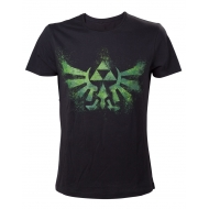 The Legend of Zelda - T-Shirt Green Zelda Logo