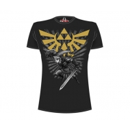 The Legend of Zelda - T-Shirt Zelda Warrior noir