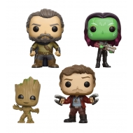 Les Gardiens de la Galaxie 2 - Pack 4 Figurines POP! Marvel Set II 9 cm