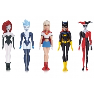 Batman The New Adventures - Pack 5 figurines Girls Night Out 14 cm