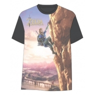 The Legend of Zelda Breath of the Wild - T-Shirt Link Climbing