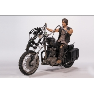 Walking Dead - Figurine Daryl Dixon on Chopper Dlx Pack