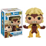 X-Men - Figurine POP! Bobble Head Sabretooth 9 cm