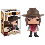 The Walking Dead - Figurine POP! Carl Grimes 9 cm