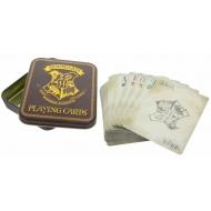 Harry Potter - Jeu de cartes à jouer Poudlard
