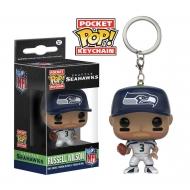NFL - Porte-clés Pocket POP! Russell Wilson (Seattle Seahawks) 4 cm