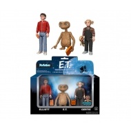 E.T. l'extra-terrestre - Pack 3 Figurines ReAction 10 cm