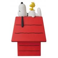 Peanuts - Figurine Medicom VCD Snoopy, Woodstock & Dog House 15 cm