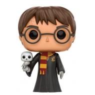 Harry Potter - POP! Movies Vinyl figurine Harry with Hedwig 9 cm