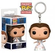 La Belle et la Bête - Porte-clés Pocket POP! Belle 4 cm