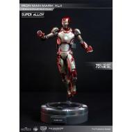 Iron Man - 3 figurine métal Super Alloy 1/12  Mark XLII 15 cm