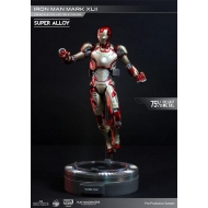 Iron Man 3 - Figurine métal Super Alloy 1/12 Mark XLII 15 cm