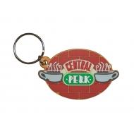 Friends - Porte-clés caoutchouc Central Perk 6 cm