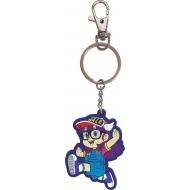 Dr. Slump - Porte-clés caoutchouc Arale 7 cm