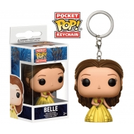 La Belle et la Bête - Porte-clés Pocket POP! Belle 4 cm