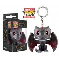Game of Thrones - Porte-clés POP! Drogon 4 cm