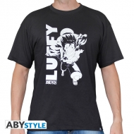 One Piece - Tshirt homme Luffy running black used