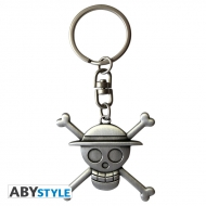 One Piece - Porte-clés 3D Skull Luffy