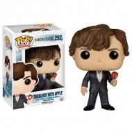 Sherlock Holmes - Figurine POP! Sherlock with Apple 9 cm