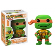 Les Tortues Ninja - Figurine POP! Michelangelo 10 cm