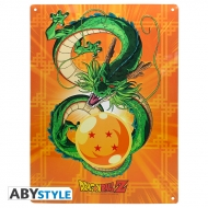 Dragon Ball - Plaque métal Shenron (28x38)