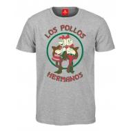 Breaking Bad - T-Shirt Los Pollos Hermanos grey