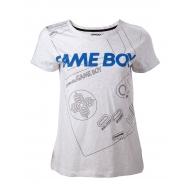 Nintendo - T-Shirt fille Gameboy