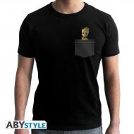 Marvel - Tshirt Pocket Groot homme MC black- new fit