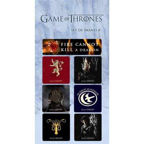 Game of Throne - Set de Magnets (Set B)