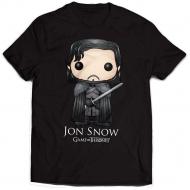 Game of thrones - T-Shirt Jon Snow Bling Art