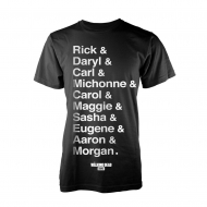 Walking Dead - T-Shirt Names