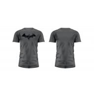 Batman - T-Shirt Graphics Logo Grey