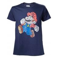 Nintendo - T-Shirt Mario Word Play