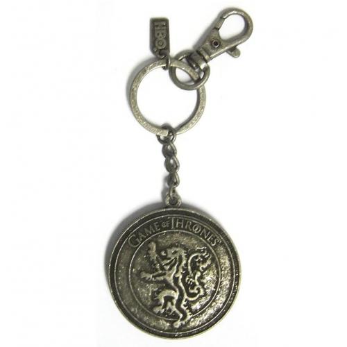 Game of Thrones - Porte clef métal Bouclier Lannister