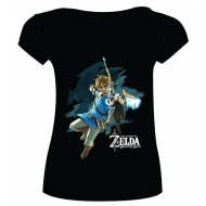 The Legend of Zelda Breath of the Wild - T-Shirt femme Link with Arrow