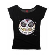 L'etrange Noel de Mr. Jack - T-Shirt femme Sugarskull Dots
