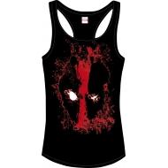 Deadpool - Debardeur femme Bloody Eyes