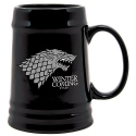 Game of Thrones - Chope en céramique noir Stark Winter is Coming Chope