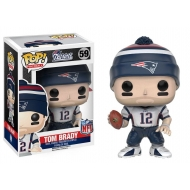 NFL - Figurine POP! Tom Brady (New England Patriots) 9 cm