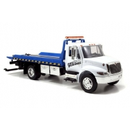 Fast & Furious - 7 1/24 2008 International Duraster Flat Bed Tow Truck métal