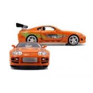 Fast & Furious - Réplique Toyota Supra orange 1/18 1995