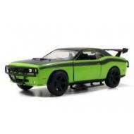 Fast & Furious - 7 1/32 2008 Dodge Challenger Green métal