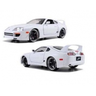 Fast & Furious - 7 1/18 1995 Toyota Supra *blanc* métal