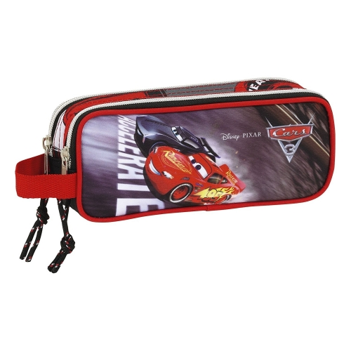 Cars Trousse 3 compartiments Cars Noir